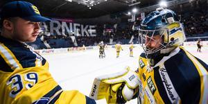 George Sörensen och Alexander Sahlin är båda utan kontrakt efter säsongen. Foto: Bildbyrån.