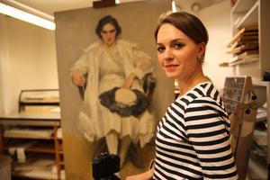 Doktorand Emma Jansson.