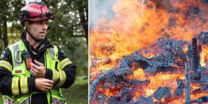 Den fuktiga luften har gjort att eldningsförbudet kunnat hävas.