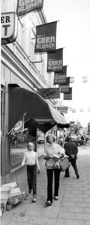 Polotröjan var inne 1978. Fotograf: ÖP arkiv