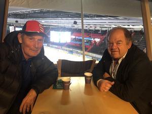 Tidigare SSK-spelare Ulf Pilö och tidigare domaren Göran Söderberg berättar om Mats Hysing.