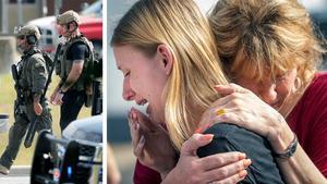 Bild: TT / Stuart Villanueva / Kevin M. Cox /The Galveston County Daily News via AP