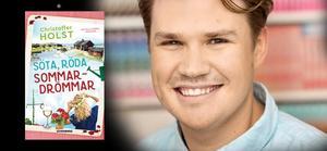 Christoffer Holst skriver böcker som han själv vill läsa.Foto: Printz