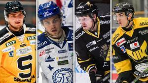 Södertälje, Leksand, AIK och Västerås tar gör upp i Skoda Trophy i september. Bild: Arkivbild/TT/Montage