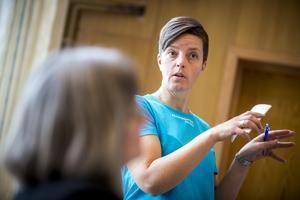 Madeleine Böhnke, ordförande Företagarna, upplever att majoriteten av företagen är nöjda med kontakten med kommunen.