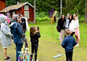 Fotoblixtarna lyste upp i Säterdalen.