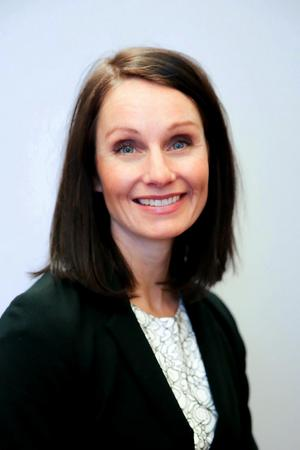 Konkursförvaltaren Karin Lindgren är inte särskilt hoppfull om att någon annan än banken ska få pengar. Foto: Pressbild