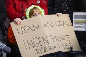 En statlig utredning, ledd av Gunilla Malmborg, föreslår att barn under 16 år inte längre ska ha rätt till personlig assistans. Foto: Janerik Henriksson/TT