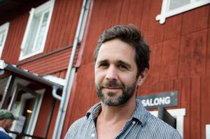 Johan Svangren, regissör vid Mellanfjärdens teater.