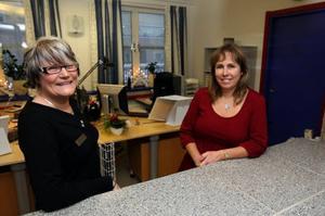 Carina Knutsson och Anette Backén är positiva till den nya satsningen.