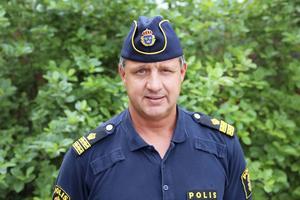 Arkivbild på Sten Sundin, Kriminalkommissarie vid Jämtlandspolisen.