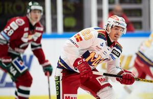 Henrik Hetta under en hemmamatch mot Frölunda. Foto: TT/Andreas Hillergren