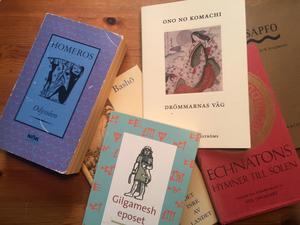 Äldre litteratur. Foto: Göran Greider.