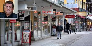 Stadens ledare verkar tro att Borlänge blir bättre och tryggare om staden blir vackrare på ytan - jag tror att det i mångt och mycket handlar om bristande ledarskap. Det skriver kommuninvånaren Håkan Carlberg. Foto: Tomas Nyberg