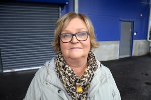 Helena Ålund Sundström, 57, butikssäljare, Sundsvall: