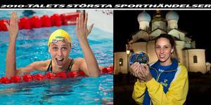 Jennie Johanssons VM–guld gav eko över hela sim-världen.