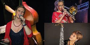 Gruppen Sisters of Jazz vill lyfta fram några av de kvinnor som har varit versamma inom jazzmusiken, men som under sin levnadstid inte fick den uppmärksamhet som de borde ha fått. Foto: Pressbild