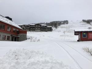 Backen i Ramundberget som heter Slalombacken. Foto: Ulrika Dahlqvist.