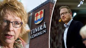 Robert Thunfors och Timråpartiets överklagande av beslutet innebär ett krav som skulle kunna få som konsekvens att många medborgare och företag blir lidande, skriver Ewa Lindstrand (S). Bilder: Arkiv