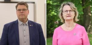 Kommunalråden Anders Wigelsbo (C) och Marie Wilén (C) vill att regeringen ska agera och säkra Sveriges krisberedskap.