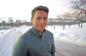 Jon Henrik tycker det är jättefint i Tällberg.