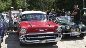 Den 27 juli är det återigen dags för Ösmo hembygdsgilles årliga veteranfordonsträff på Nyble. Fotograf: Solveig S Thörnblom/arkiv
