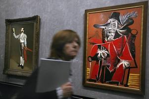 Två mästare. Edouard Manets målning från 1866–67 får i Picassos händer förvridna proportioner, färger och former.