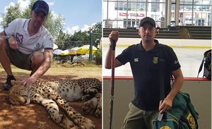Johan Sundin lever ett helt annat hockeyliv i Sydafrika