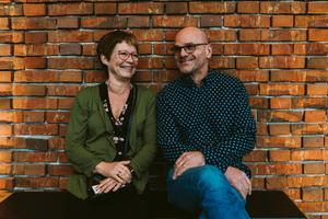 Anethe och Peter på Plura i Västerås Konserthus. Bild: Martin Bohm