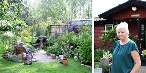 Rose-Marie Calldin kommer att vara på plats och sälja växter från sin trädgård i Västerås.