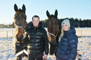 Team Skoglund i Njurunda är verkligen ett väloljat par. Rikard N Skoglund håller på att utvecklas till en catch-driver av högsta klass och den egna tränarrörelsen och mycket av allt runt omrkring hemma på gården tar sambon Lina Bergström stort ansvar för.