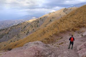 Landskapsbild från Uzbekistan som ingick i Anna Samuelssons bildvisning på Sala Fotoklubb. Foto: Anna Samuelsson