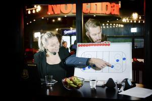 Medialt betyder spel i SHL ett uppsving och lokalt producerades mängder med artiklar och filmklipp från exempelvis Jennifer Engström och Eric Westlund, som här går på djupet i den livesända uppesittarkvällen på ST.nu och Hockeypuls.