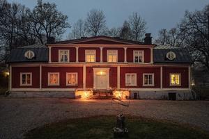 Fagersta Herrgård har fått flest klick vecka 8. Tidigare har den varit både pensionat och privatbostad. Foto: Erik Olsson Fastighetsförmedling