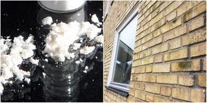1,3 kilo lågutblandad kokain hittades inne i familjehemmet. Foto: Chris Knight/Torbjörn Granström