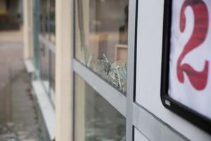 Hemköpsbutiken i Brunnsäng utsattes för omfattande skadegörelse i mellandagarna.