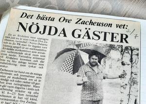 Turistchefen Ove Zacheuson.