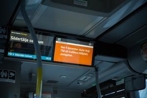 Buss 758 stannar inte längre vid hållplatsen Jovisgatan, som ligger på Nygatan.