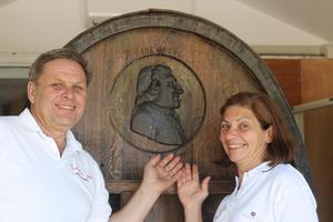 Richard Jansson och Kristina Anerfält-Jansson äger och driver Norrtelje brenneri.