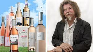 Sommartider är rosétider för många. Och nu finns det många bra roséviner att välja bland. Vår vinexpert Sune Liljevall har bland långt över 100 rosa viner vaskat fram de allra bästa köpen. Bild/montage: Sune Liljevall