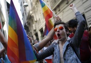 Pride i Turkiet. Foto:  Emrah Gurel, AP.