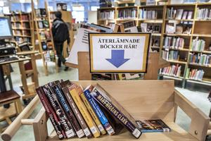 Kanske är det bara en tidsfråga innan denna nyliberala syn på biblioteksverksamheten når Dalarna, skriver debattören. Foto: TT