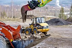Ramirent hyr ut maskiner inom byggbranschen och övrig industri. Foto: Ulf Palm/TT
