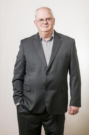 Magnus Alfredsson är reporter på tidningen Privata affärer och bevakar Actic som börsföretag. Foto: Patrik Lindgren