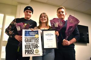 De tre nominerade, Sebastian Olsson, Elin Söderholm och Palle Andrén känner varandra sedan tidigare. Konkurrenterna uttryckte båda stolthet över vinnaren när hennes namn ropades ut.