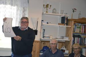 Bosse Lindgren var bisittare i Bollnäs lag.