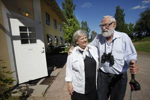 Göran Norström flyttade tillsammans med sambon Lilian Ricklund-Stynsberg tillbaka till Sandviken där han var född.