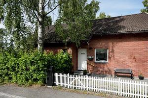 Huset på Tegelbruksvägen är arkitektritat.