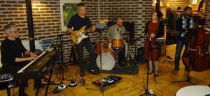 Annelie Vigrens Band med idel ädel adel spelade finstämda visor.