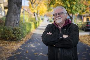 Artikelförfattaren fotograferad i Sandviken förra hösten.